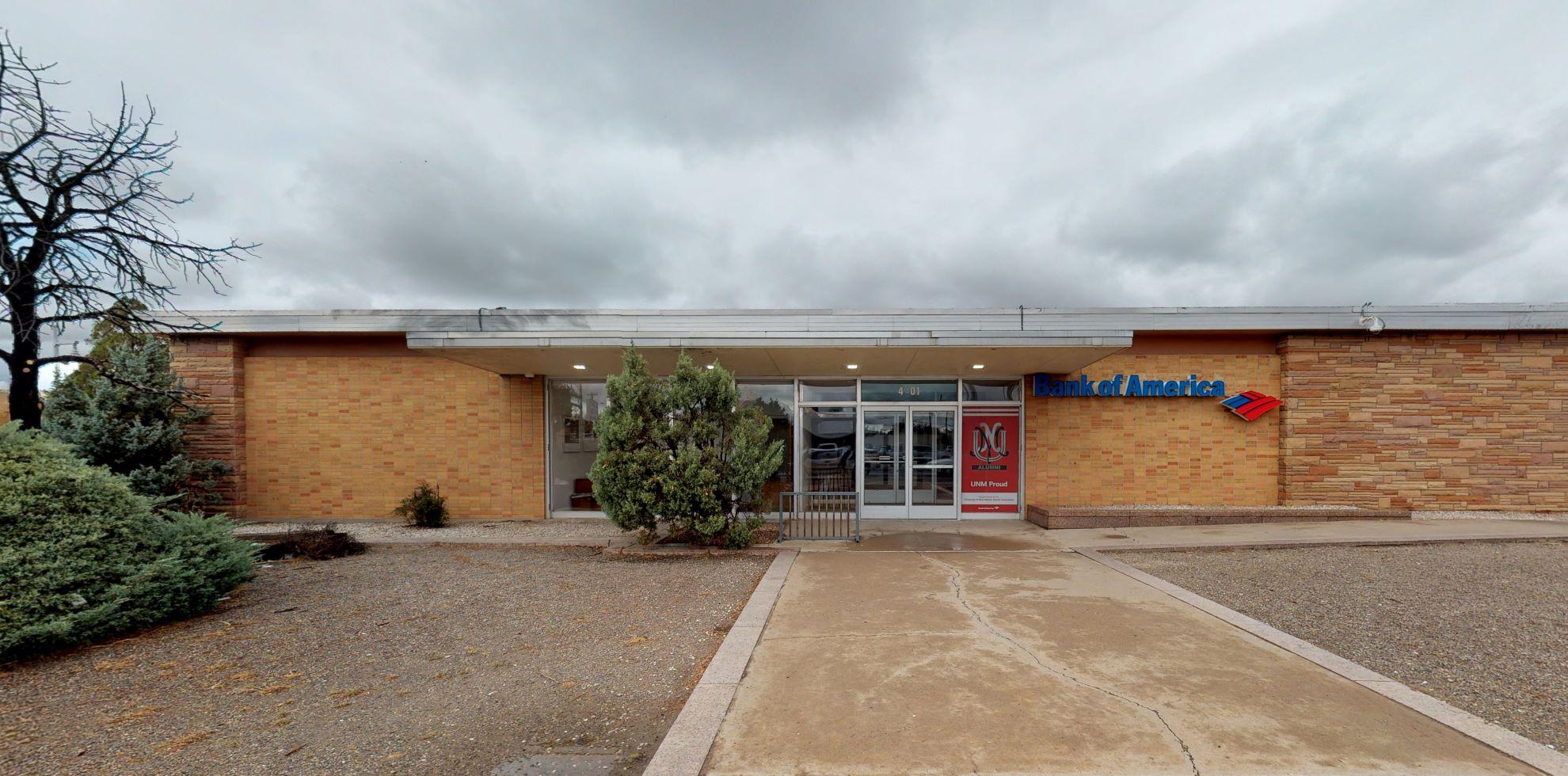 Bank of America financial center with drive-thru ATM   4401 Central Ave NE, Albuquerque, NM 87108