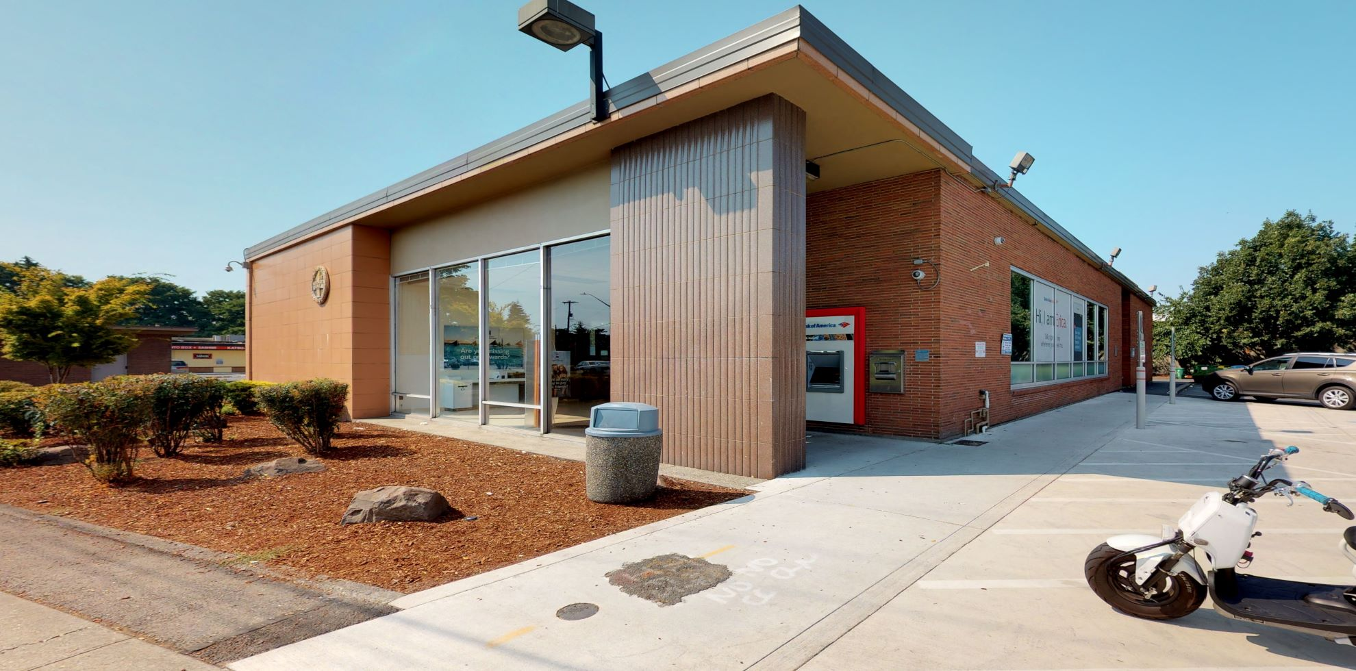 Bank of America financial center with drive-thru ATM | 1112 S Bailey St, Seattle, WA 98108