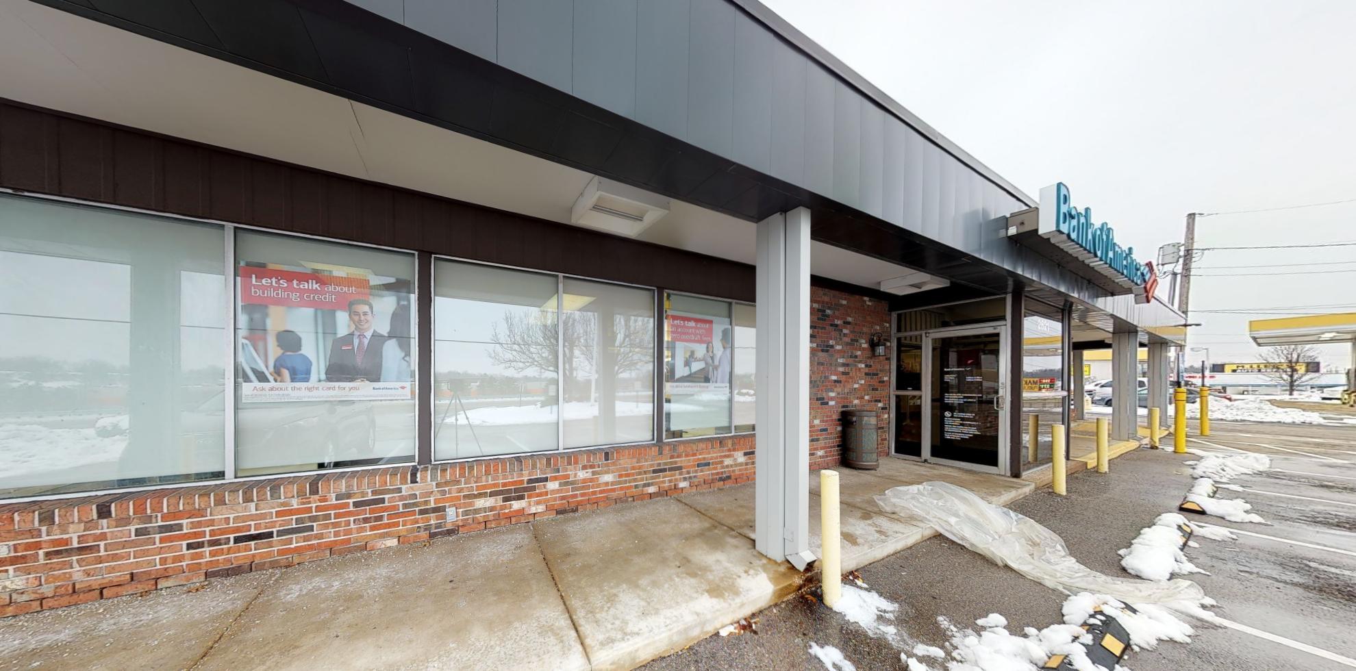 Bank of America financial center with drive-thru ATM   2621 Dunn Rd, Saint Louis, MO 63136