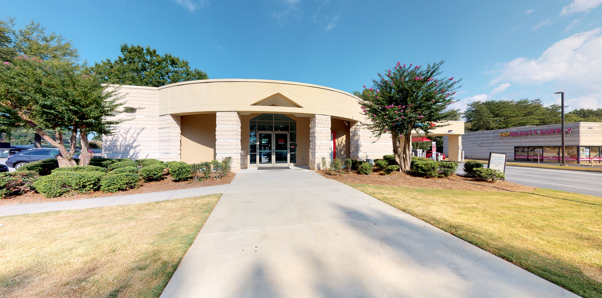 Bank of America financial center with drive-thru ATM | 840 Oak Rd, Lawrenceville, GA 30044