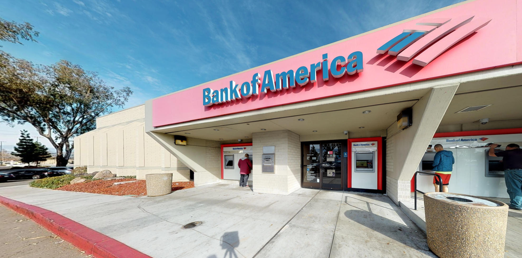 Bank of America financial center with walk-up ATM | 2225 Quimby Rd, San Jose, CA 95122