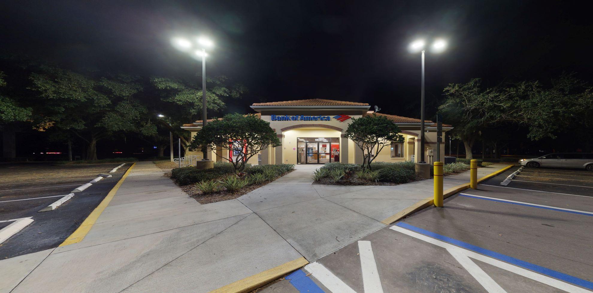 Bank of America financial center with drive-thru ATM   5636 Gunn Hwy, Tampa, FL 33624