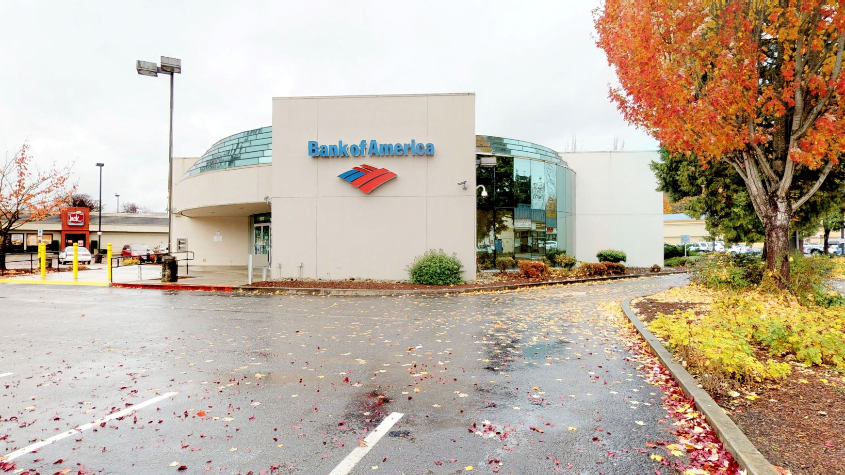 Bank of America financial center with drive-thru ATM   19917 Old Owen Rd, Monroe, WA 98272