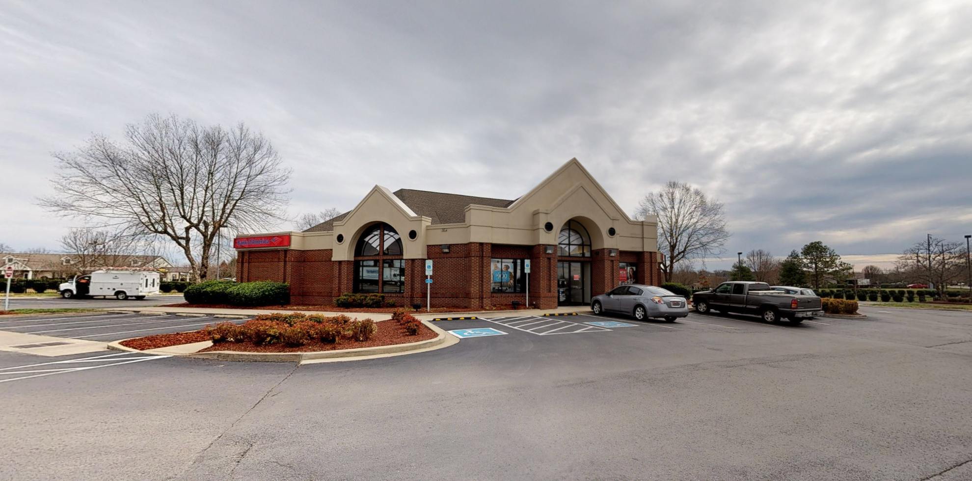 Bank of America financial center with drive-thru ATM | 345 E Main St, Hendersonville, TN 37075