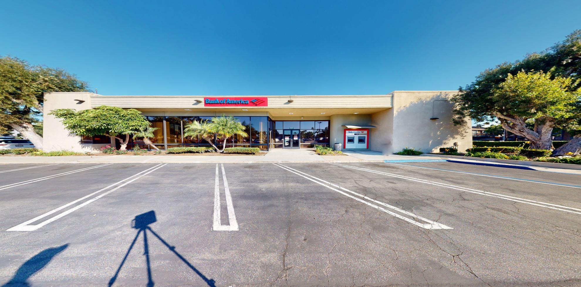 Bank of America financial center with drive-thru ATM   16811 Algonquin St, Huntington Beach, CA 92649