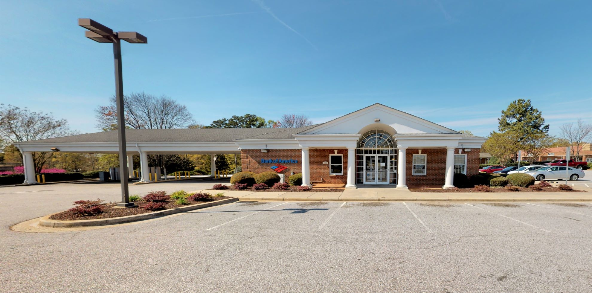 Bank of America financial center with drive-thru ATM   126 W Butler Rd, Mauldin, SC 29662