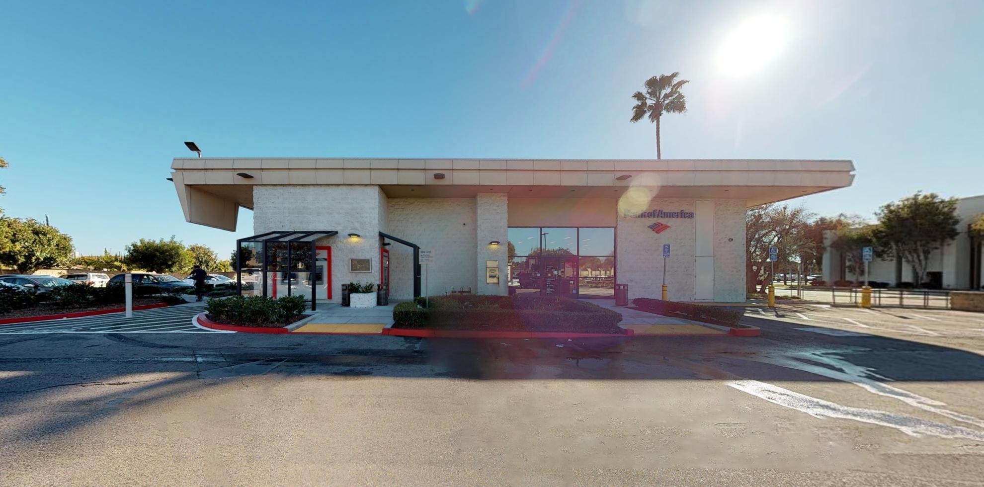 Bank of America financial center with drive-thru ATM   5531 La Palma Ave, La Palma, CA 90623