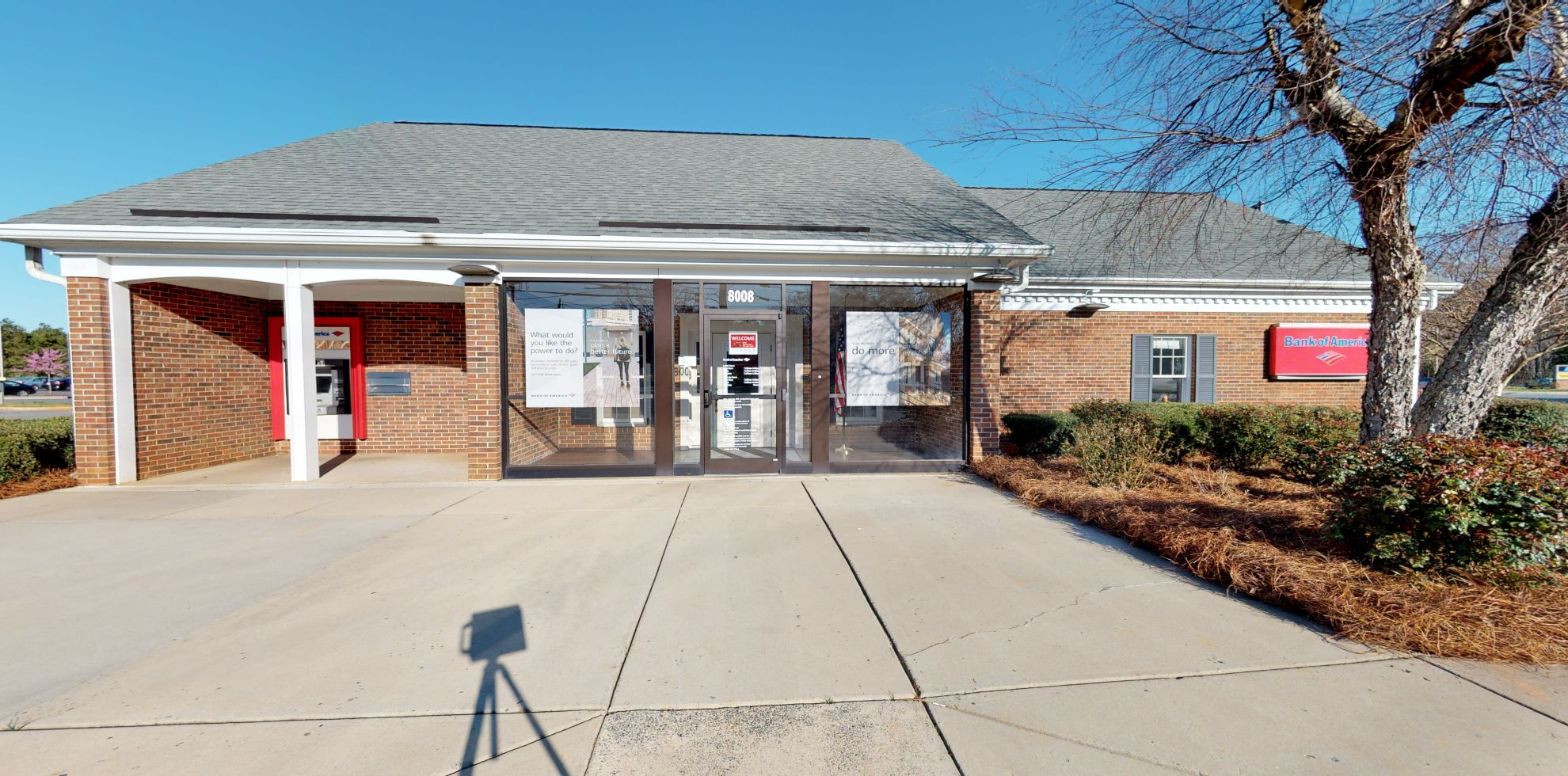 Bank of America financial center with drive-thru ATM and teller | 8008 Blair Rd, Charlotte, NC 28227