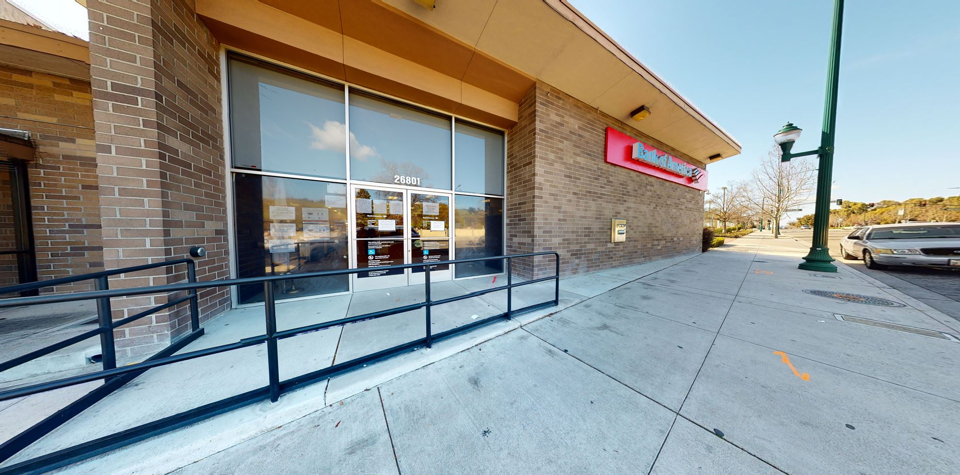Bank of America financial center with walk-up ATM | 26801 Mission Blvd, Hayward, CA 94544