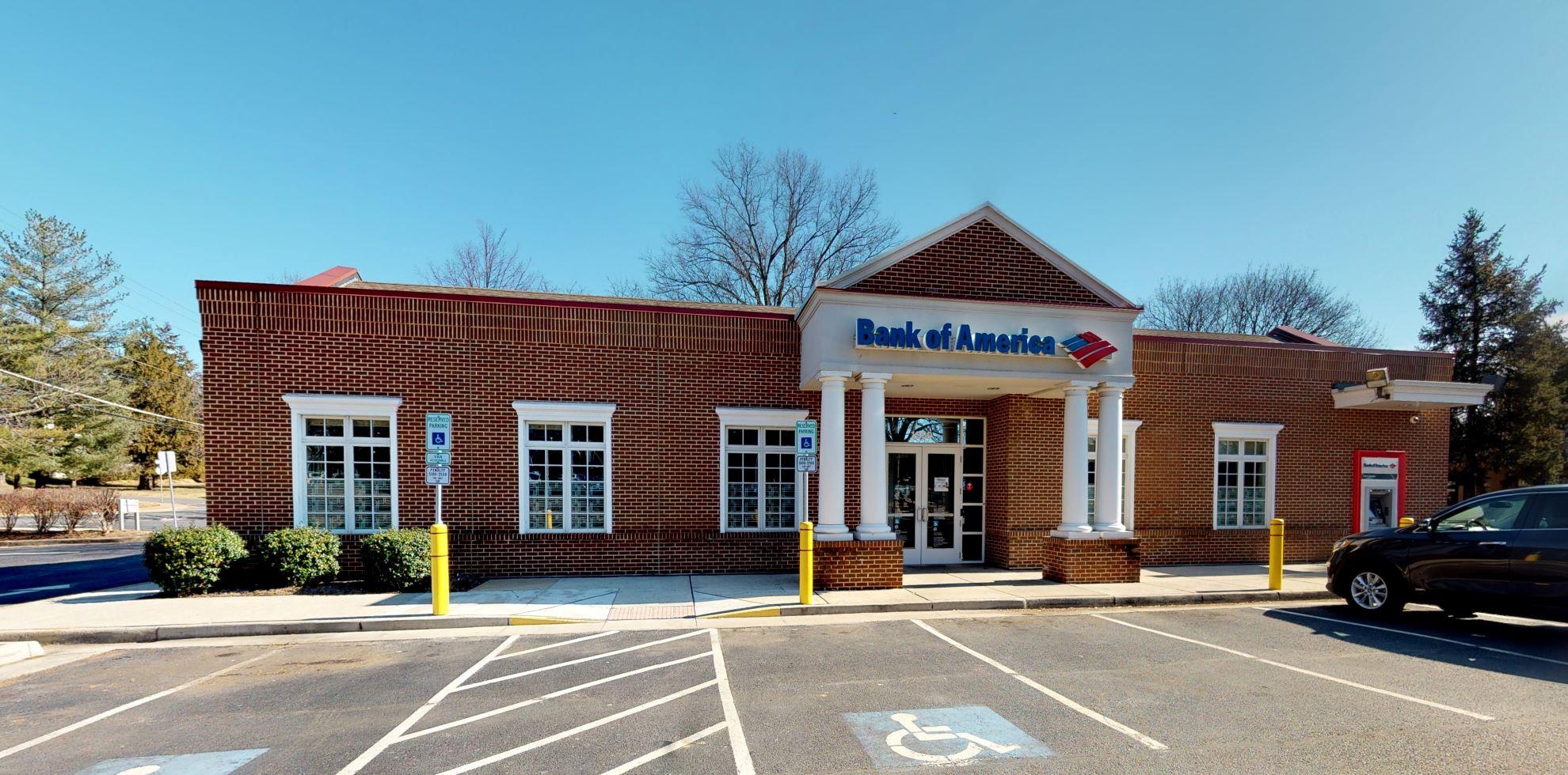 Bank of America financial center with drive-thru ATM   1369 Chain Bridge Rd, McLean, VA 22101