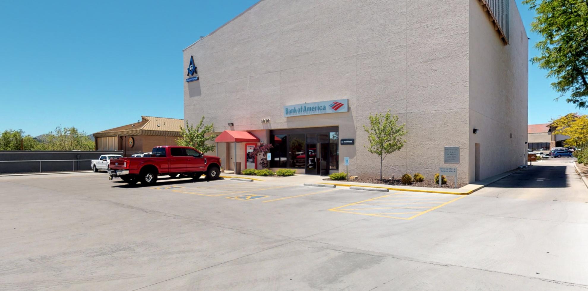 Bank of America financial center with drive-thru ATM | 1030 Willow Creek Rd, Prescott, AZ 86301