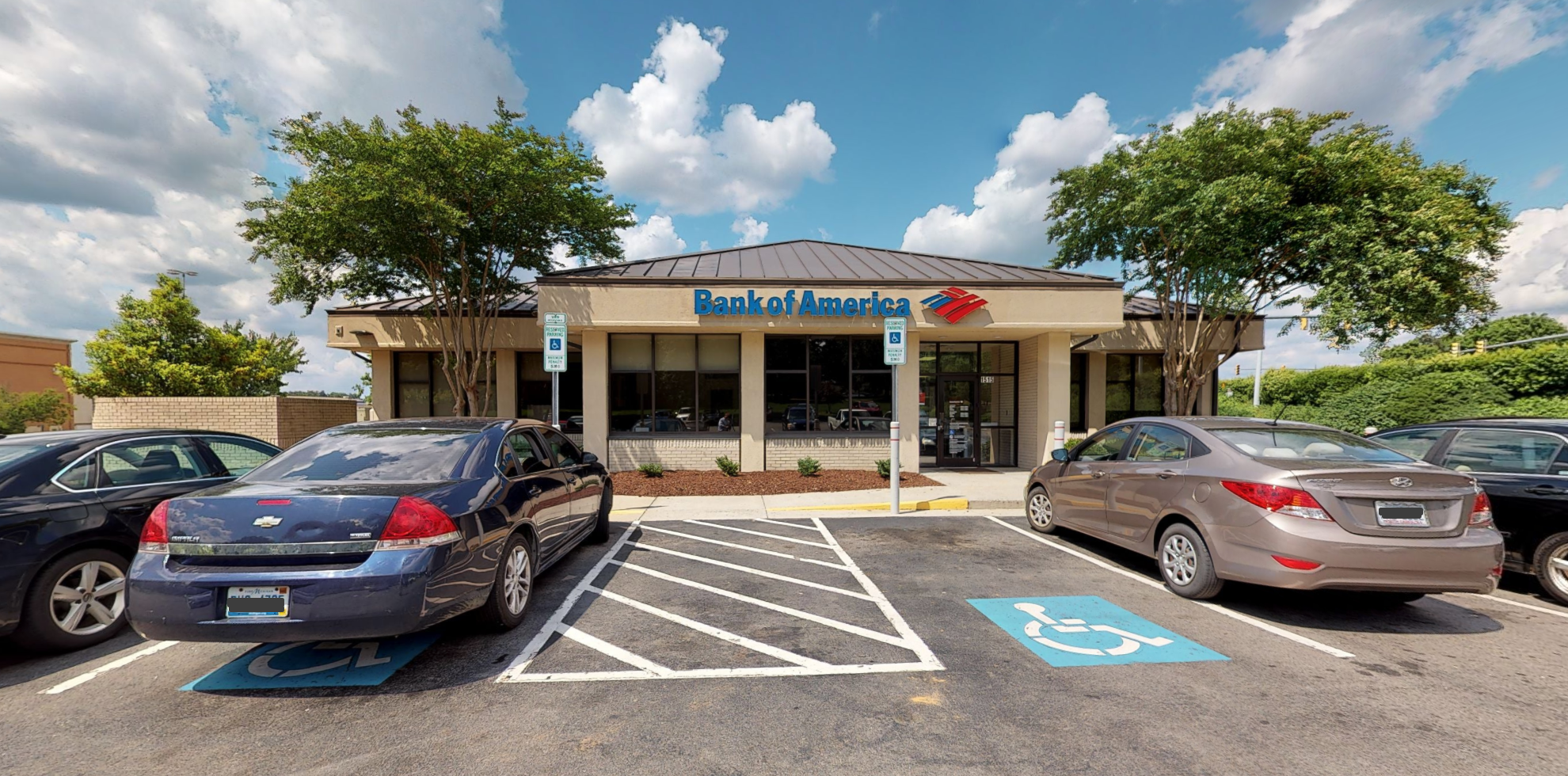 Bank of America financial center with drive-thru ATM and teller   1515 N Gregson St, Durham, NC 27701