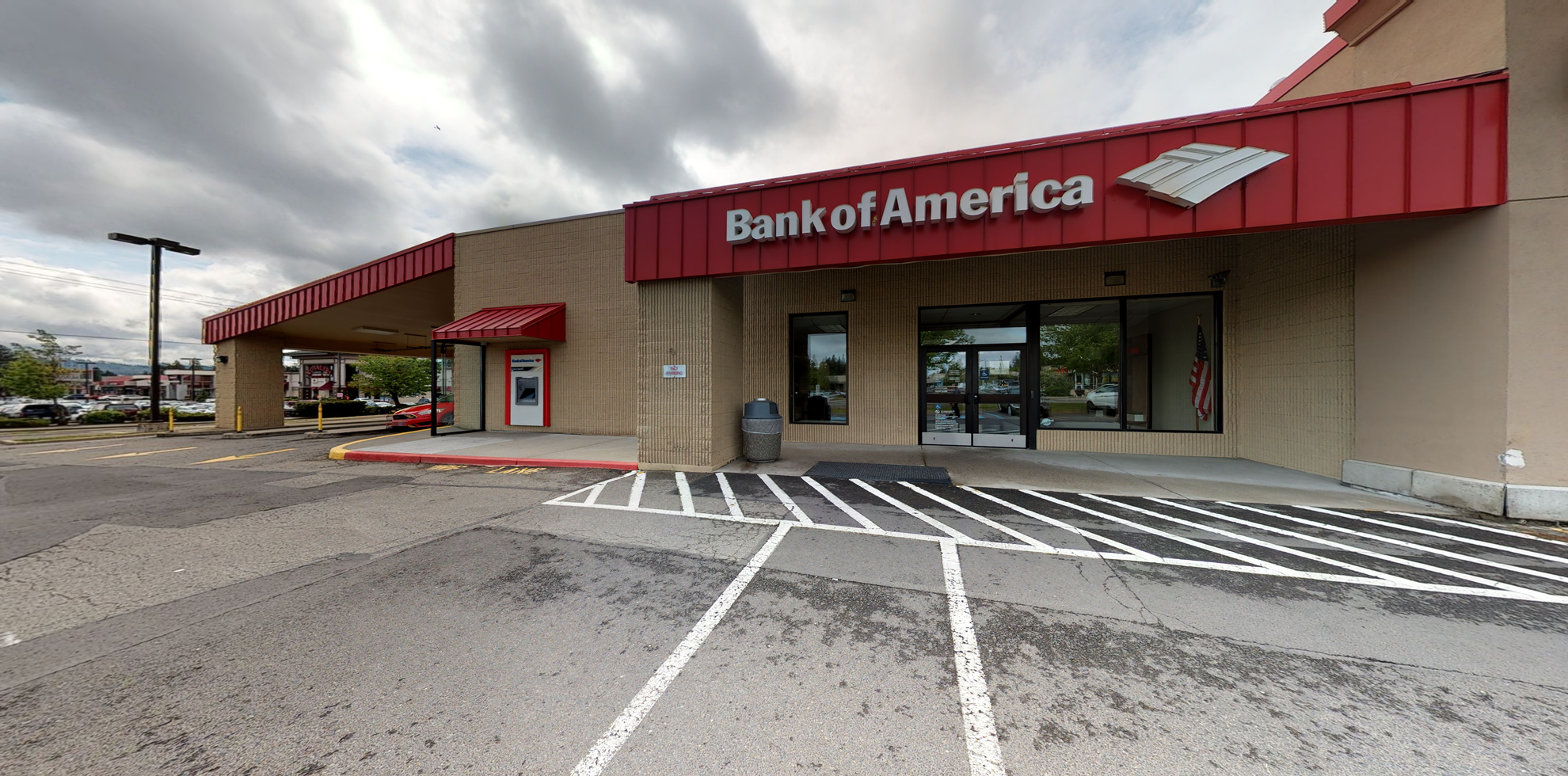 Bank of America financial center with drive-thru ATM and teller | 2504 E 29th Ave, Spokane, WA 99223