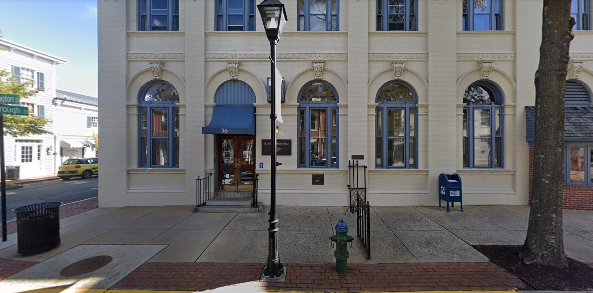 Bank of America financial center with walk-up ATM | 36 N Washington St, Easton, MD 21601