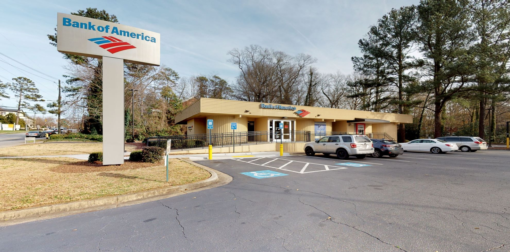Bank of America financial center with walk-up ATM | 1615 N Decatur Rd NE, Atlanta, GA 30307