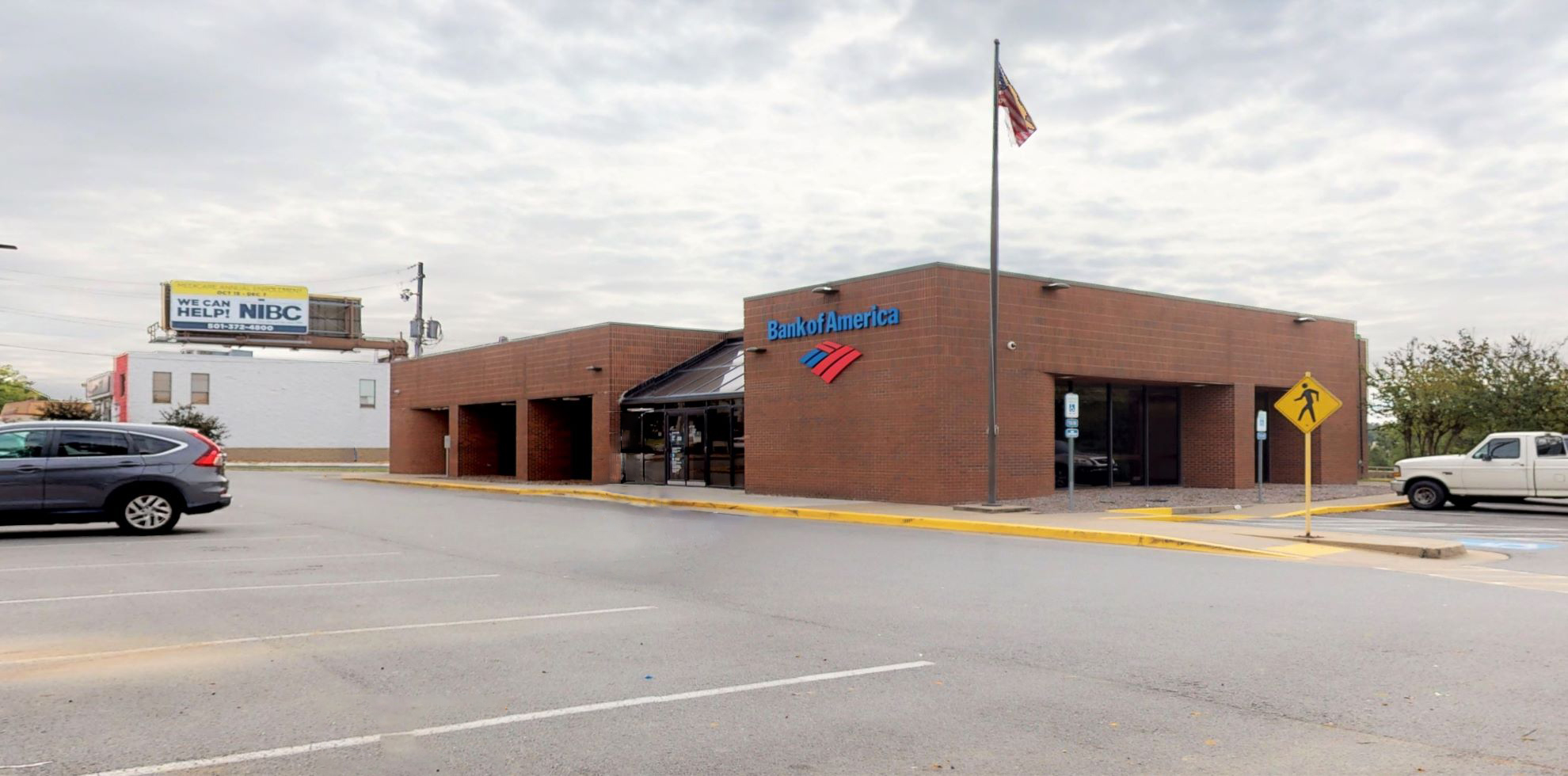 Bank of America financial center with drive-thru ATM | 2421 McCain Blvd, North Little Rock, AR 72116