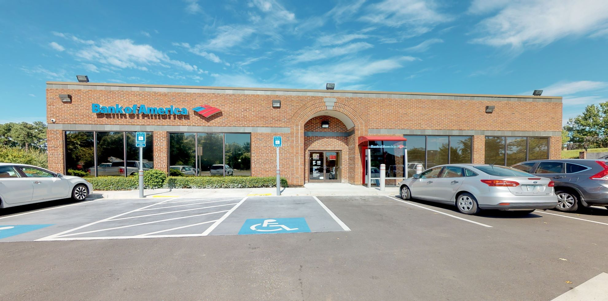 Bank of America financial center with drive-thru ATM and teller | 620 Ronald Reagan Dr, Evans, GA 30809