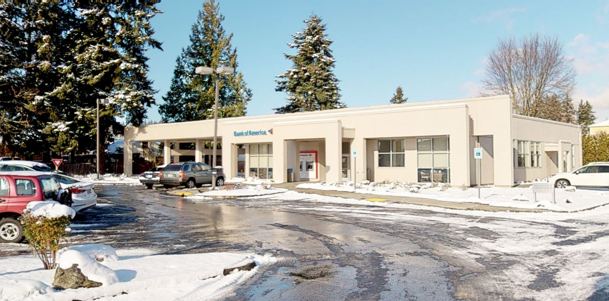 Bank of America financial center with walk-up ATM | 7110 NE Bothell Way, Kenmore, WA 98028