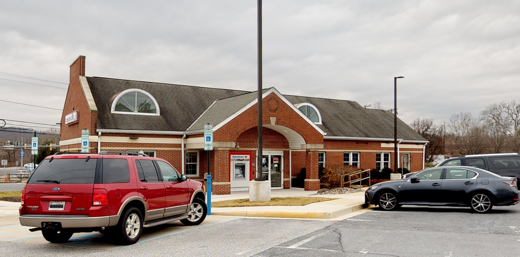 Bank of America financial center with drive-thru ATM | 2340 W Joppa Rd, Lutherville, MD 21093