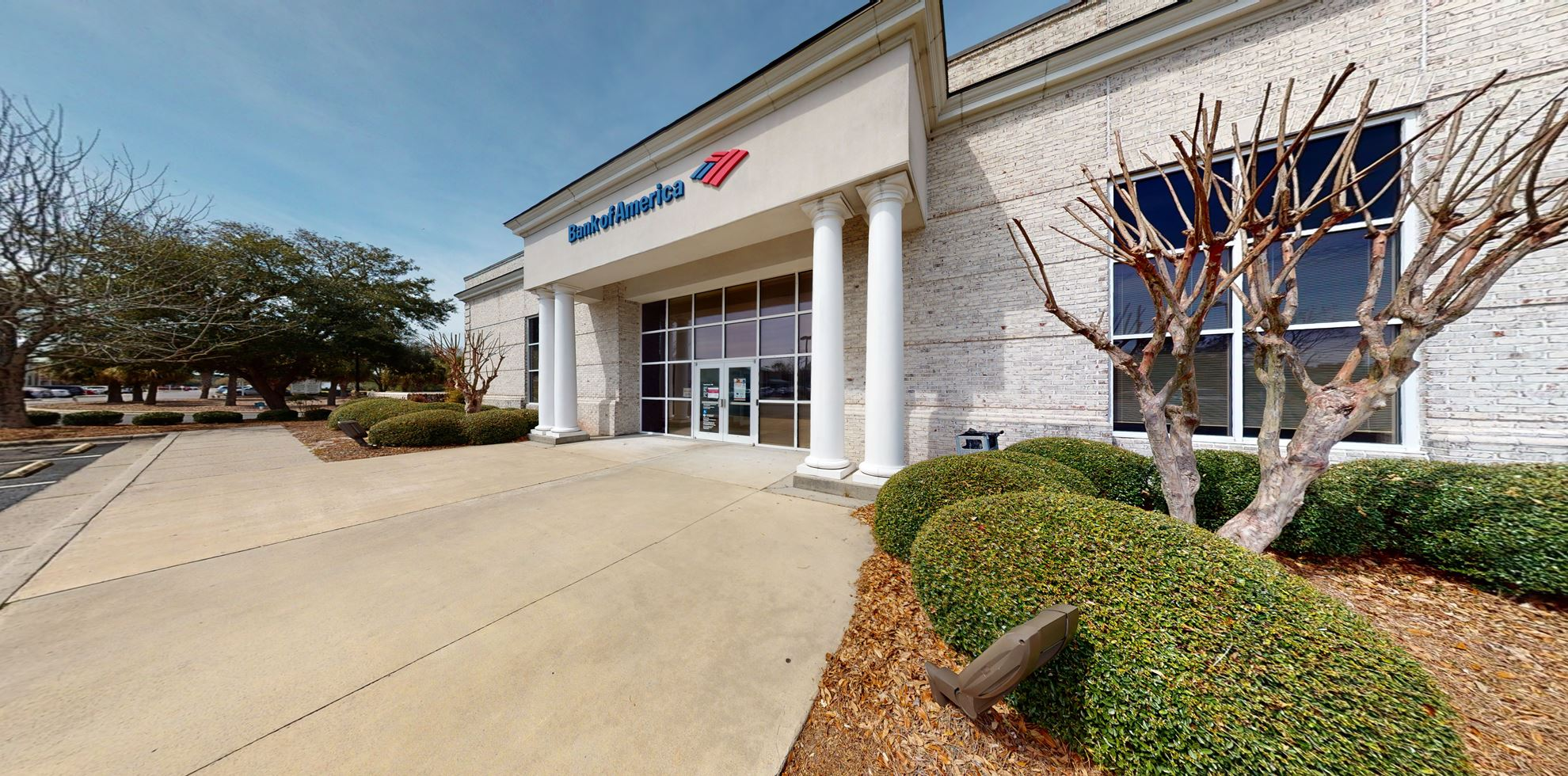 Bank of America financial center with drive-thru ATM and teller   7455 High Market St, Sunset Beach, NC 28468