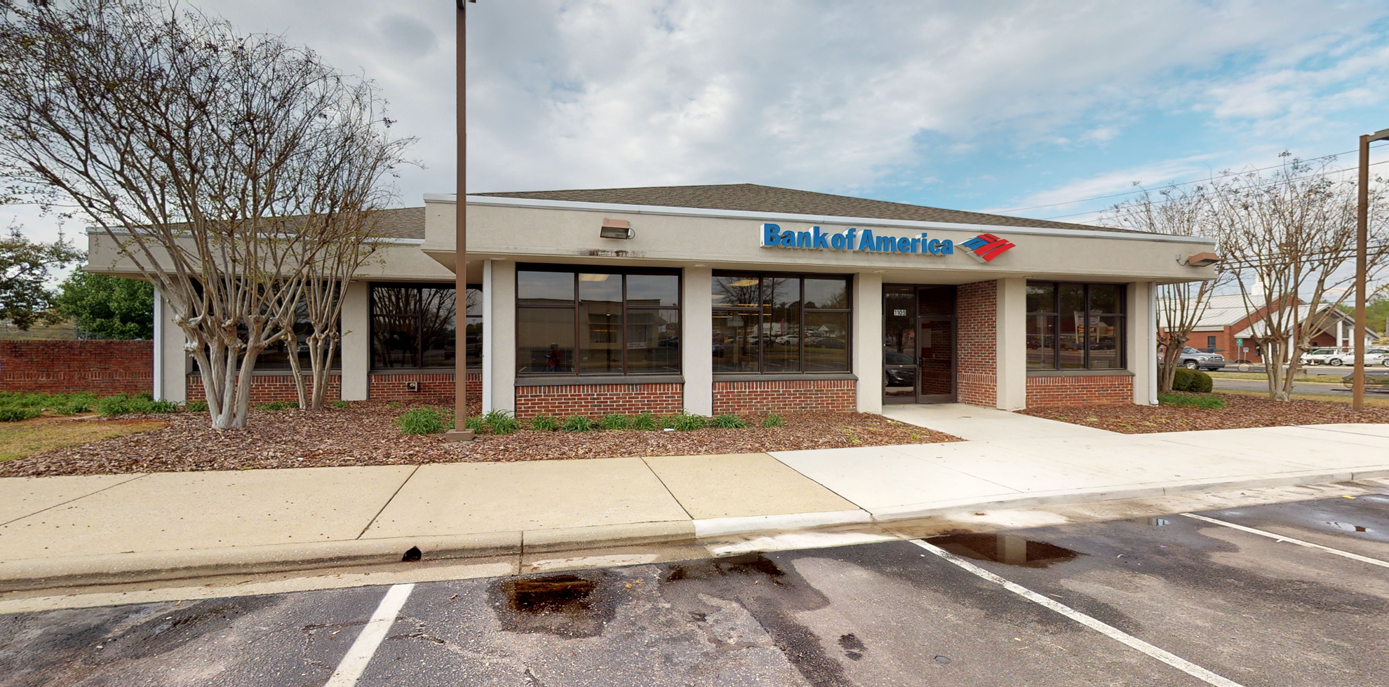 Bank of America financial center with drive-thru ATM and teller | 1109 N Bragg Blvd, Spring Lake, NC 28390