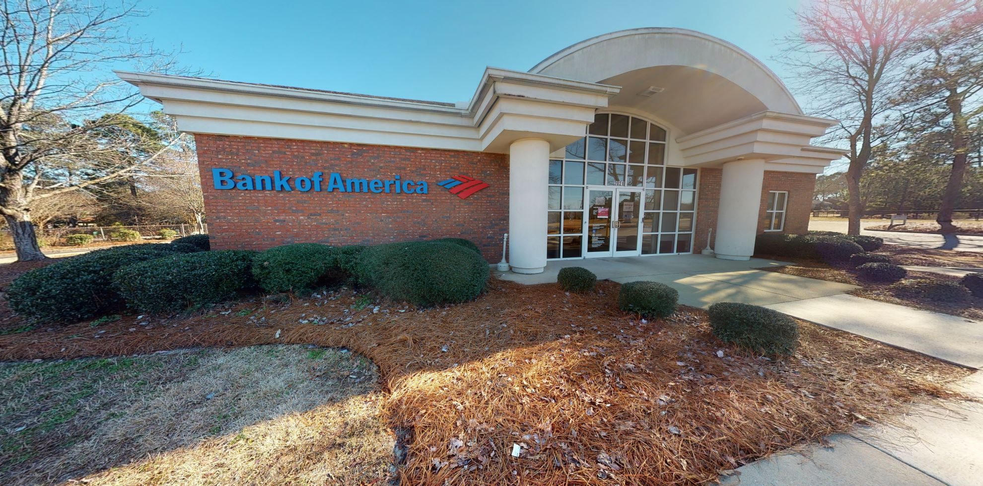 Bank of America financial center with drive-thru ATM   2021 Sunset Blvd, West Columbia, SC 29169