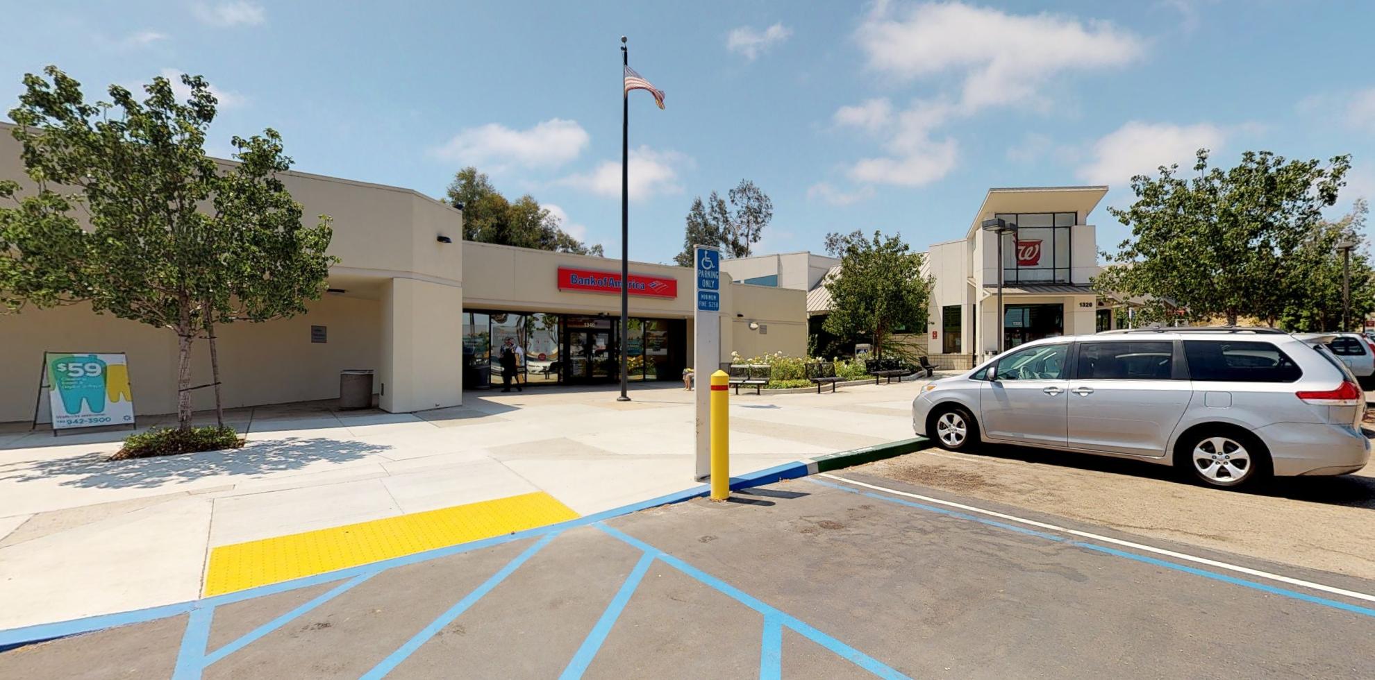 Bank of America financial center with drive-thru ATM | 1340 Encinitas Blvd, Encinitas, CA 92024