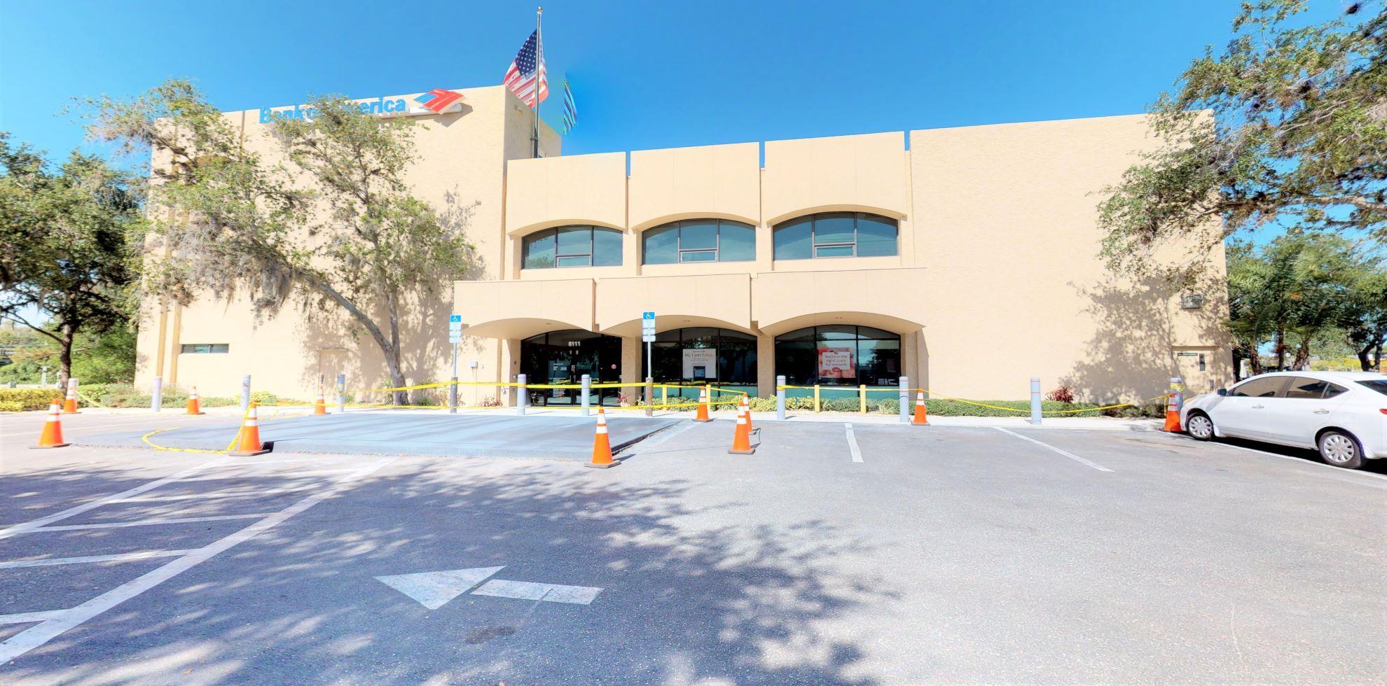 Bank of America financial center with drive-thru ATM   8111 S Beneva Rd, Sarasota, FL 34238