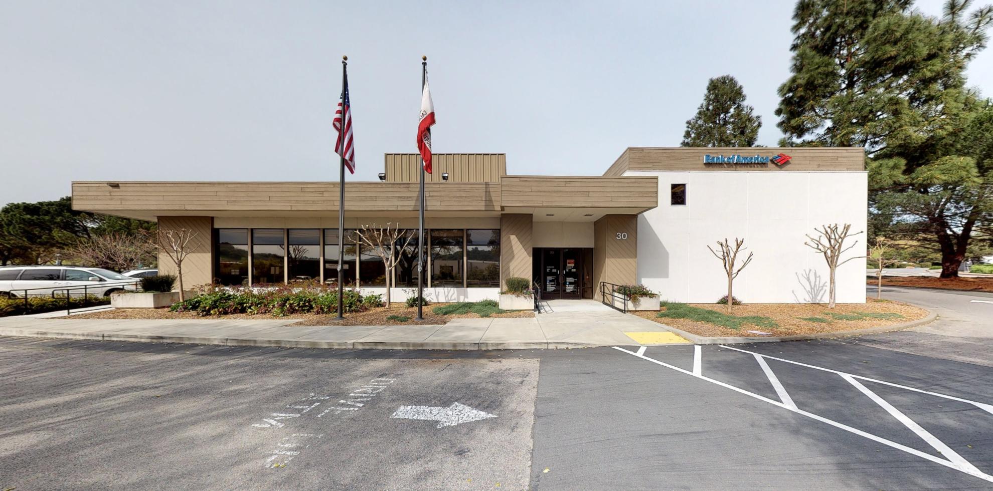 Bank of America financial center with drive-thru ATM   30 Smith Ranch Rd, San Rafael, CA 94903