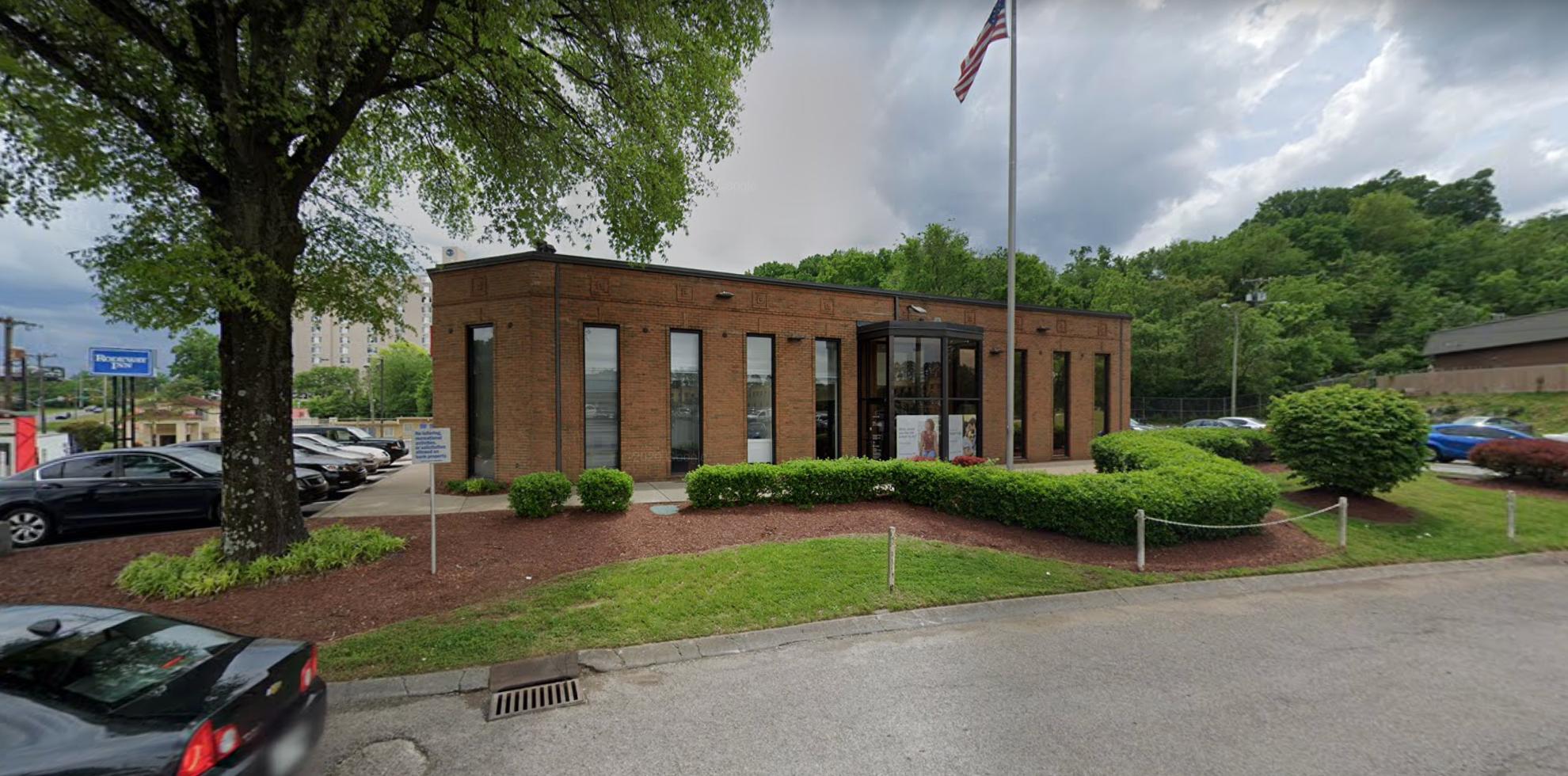 Bank of America financial center with drive-thru ATM   837 Murfreesboro Pike, Nashville, TN 37217