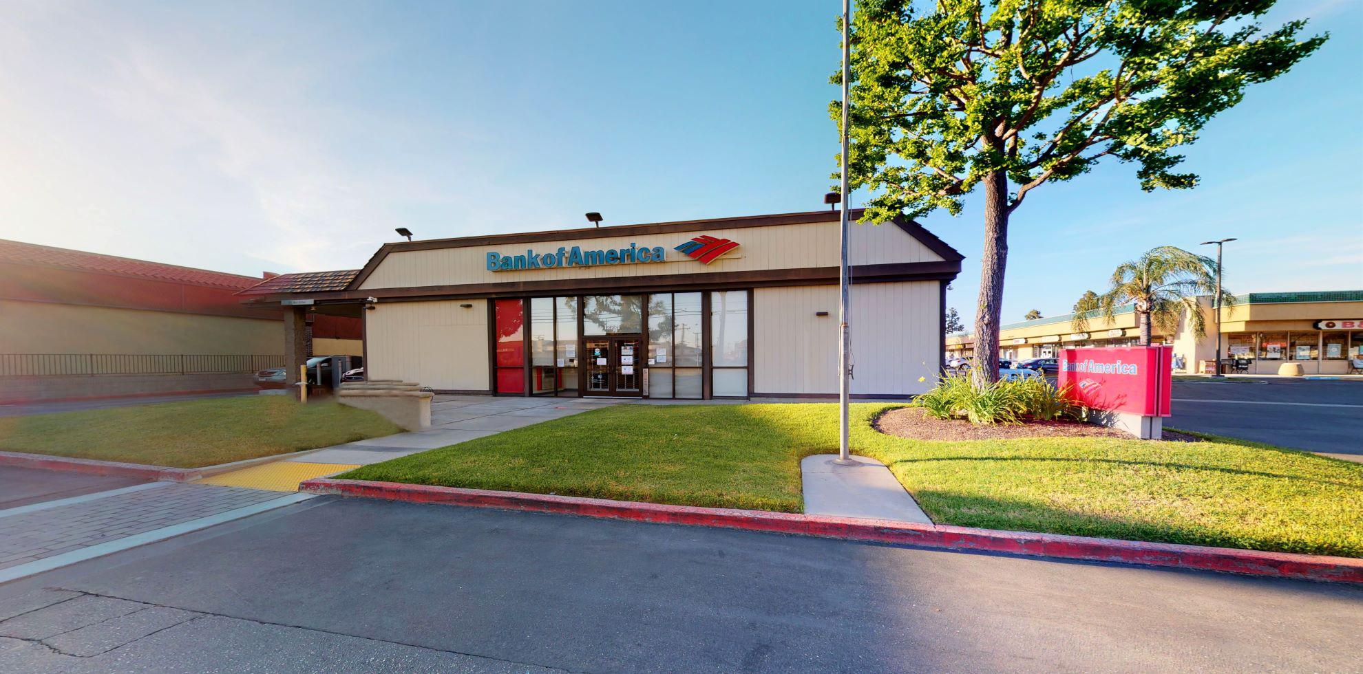 Bank of America financial center with drive-thru ATM | 12221 Artesia Blvd, Cerritos, CA 90703