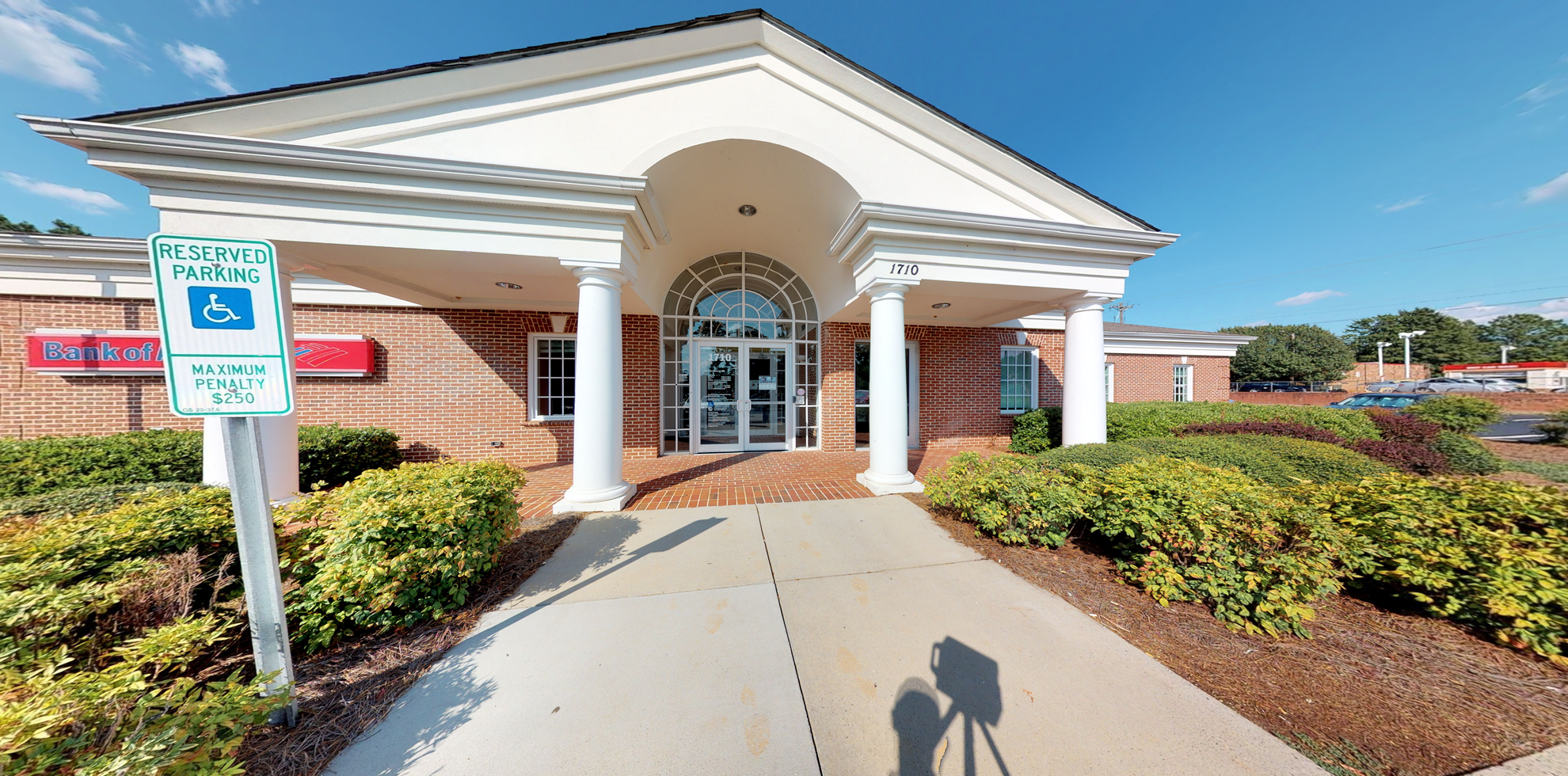 Bank of America financial center with drive-thru ATM | 1710 Heckle Blvd, Rock Hill, SC 29732