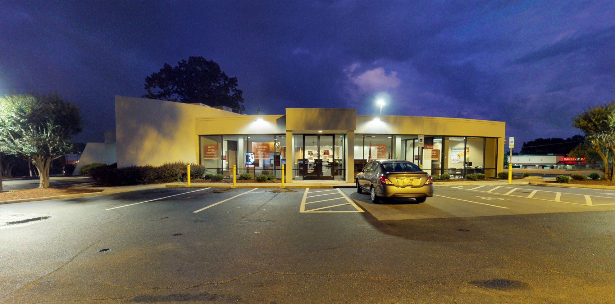 Bank of America financial center with drive-thru ATM and teller | 20 Farrs Bridge Rd, Greenville, SC 29617