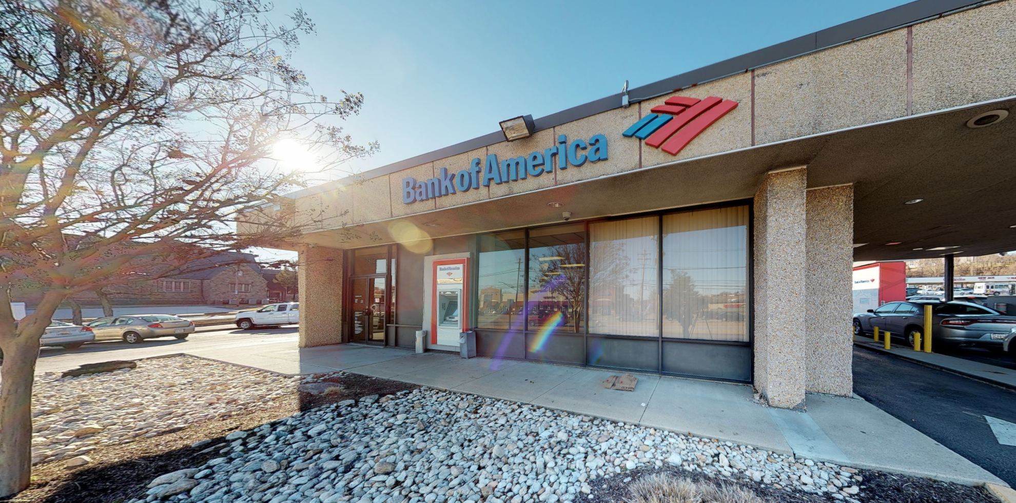 Bank of America financial center with drive-thru ATM and teller | 7912 Belair Rd, Baltimore, MD 21236