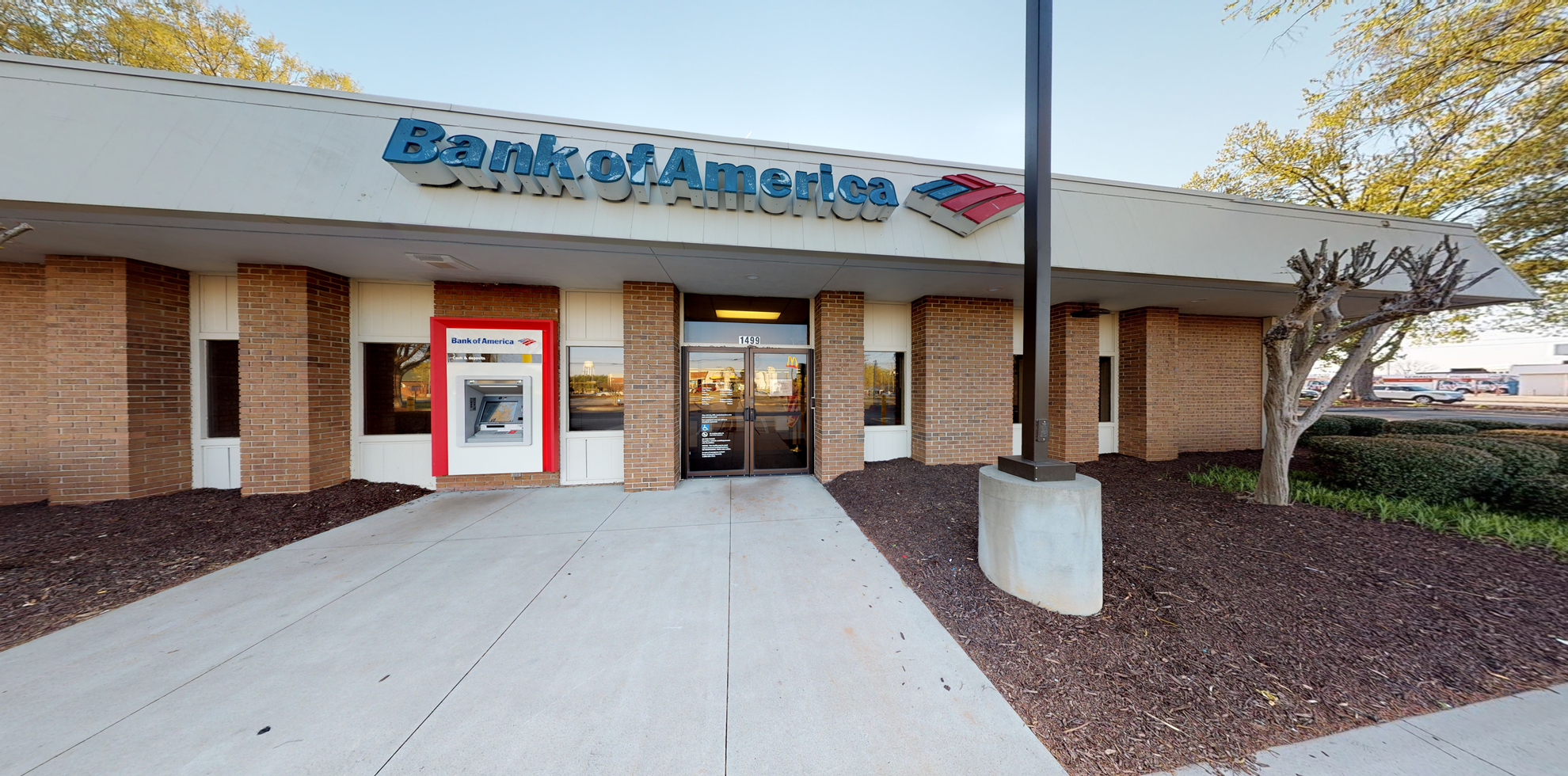Bank of America financial center with drive-thru ATM and teller | 1499 Pearman Dairy Rd, Anderson, SC 29625