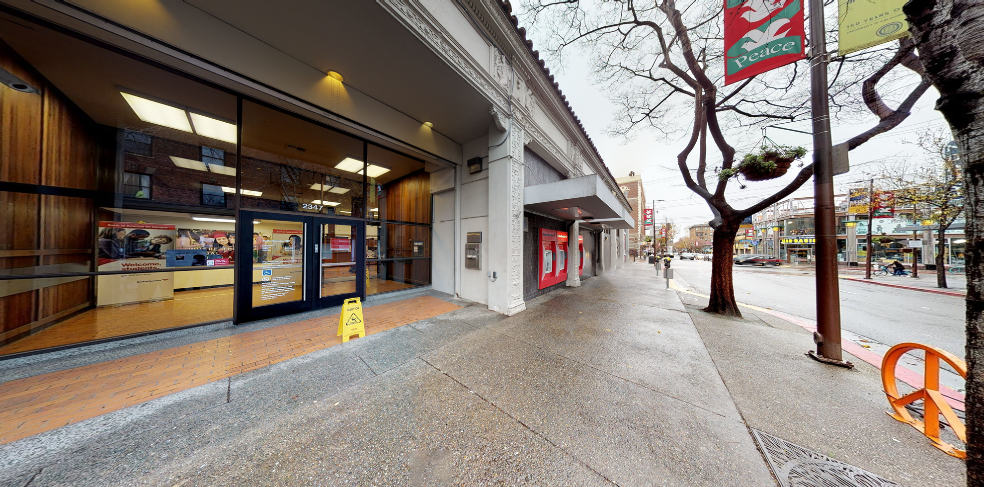 Bank of America financial center with walk-up ATM | 2347 Telegraph Ave, Berkeley, CA 94704