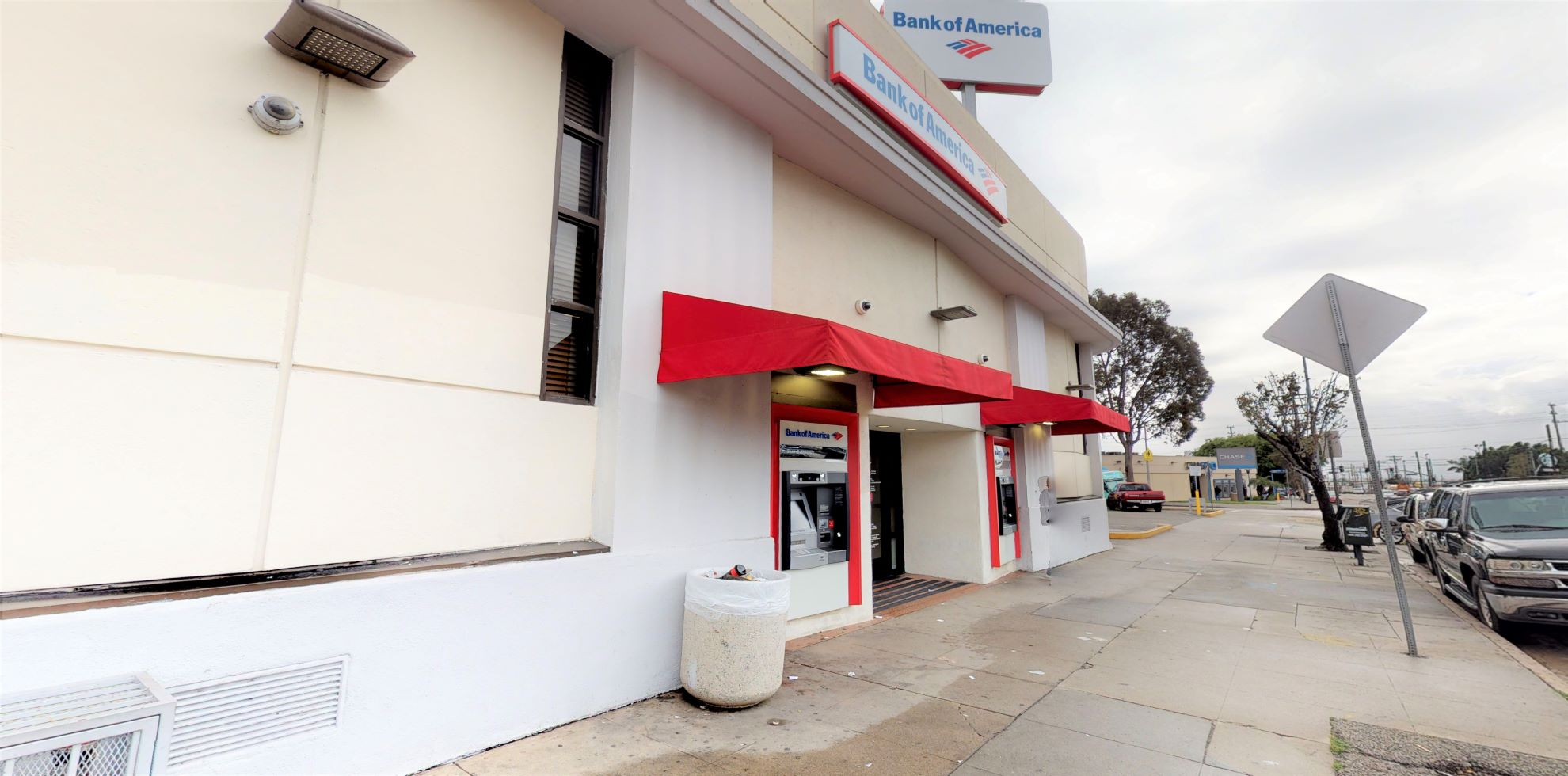 Bank of America financial center with walk-up ATM   1308 S Soto St, Los Angeles, CA 90023