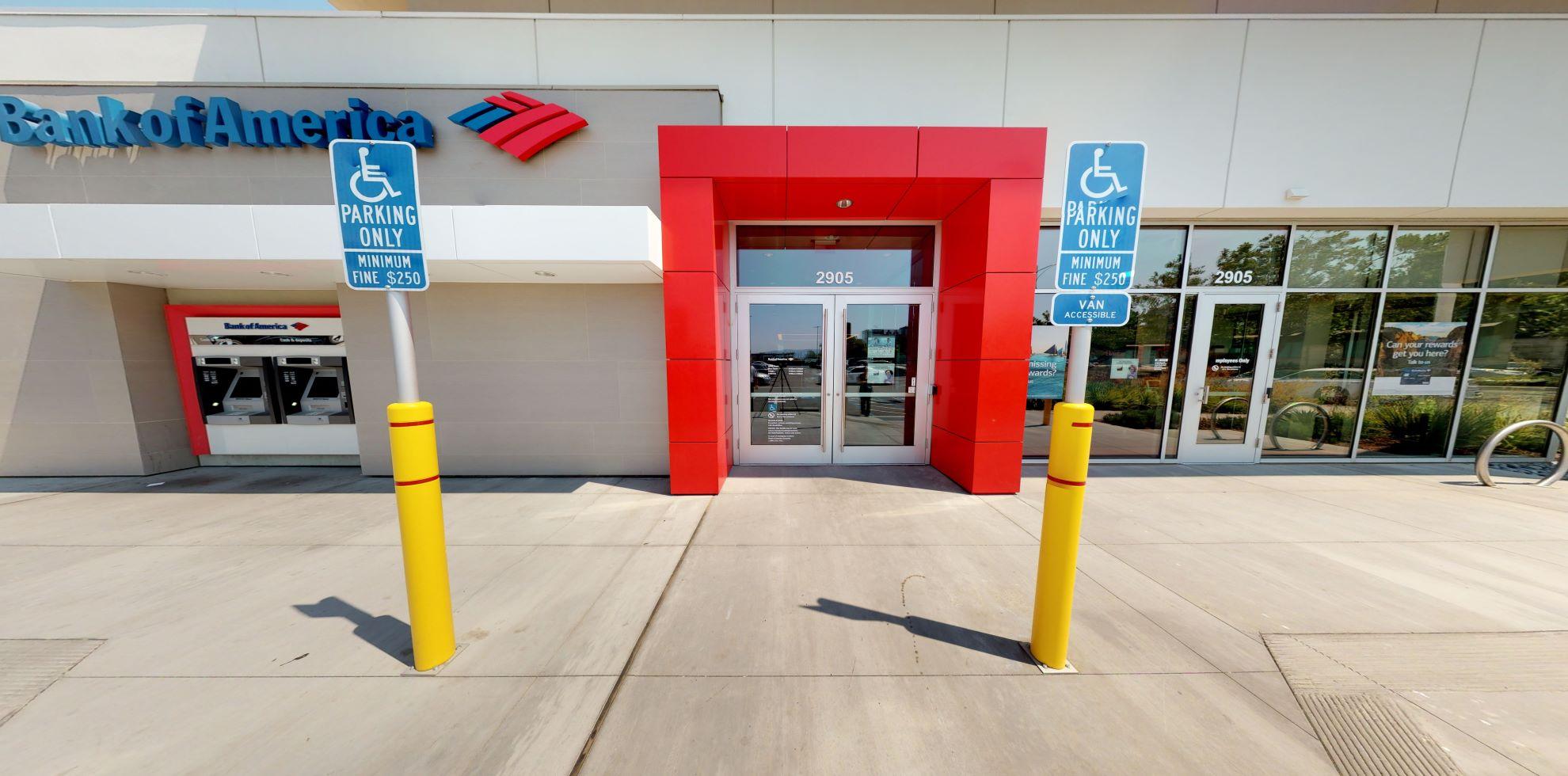 Bank of America financial center with walk-up ATM   2905 Stevens Creek Blvd, Santa Clara, CA 95050