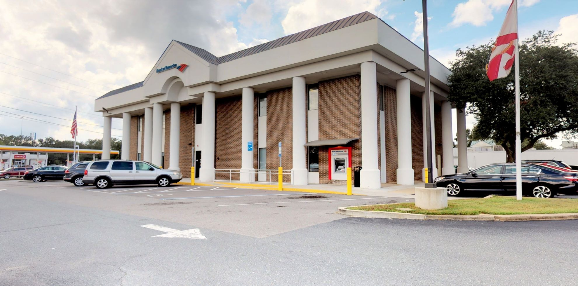 Bank of America financial center with drive-thru ATM and teller   3430 Thomasville Rd, Tallahassee, FL 32309