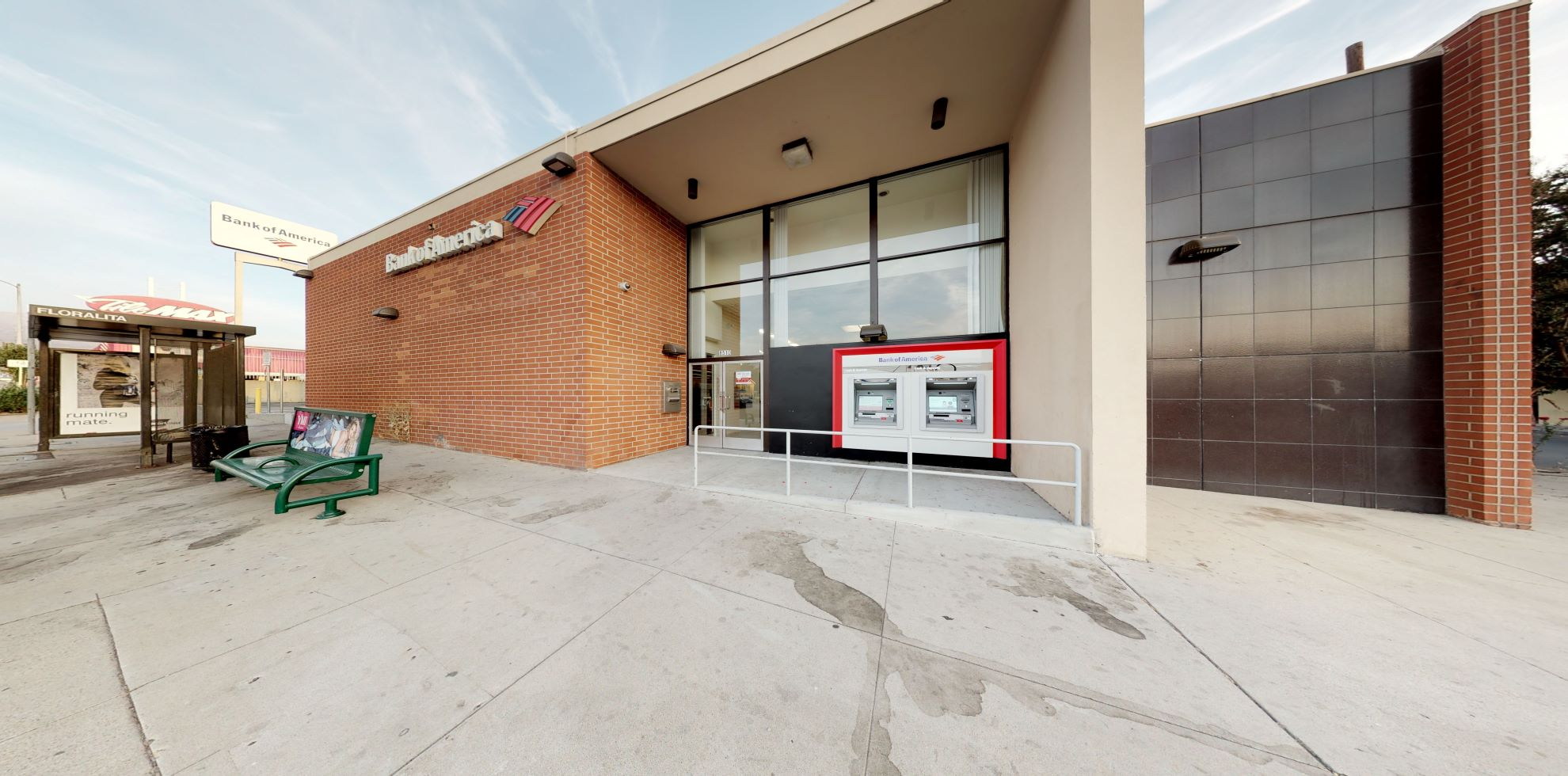 Bank of America financial center with walk-up ATM   8510 Foothill Blvd, Sunland, CA 91040
