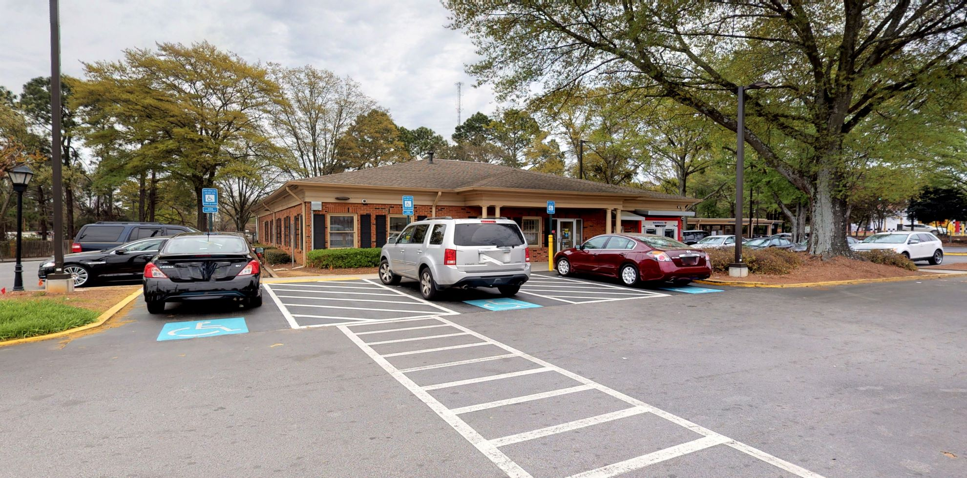 Bank of America financial center with drive-thru ATM   2850 Candler Rd, Decatur, GA 30034