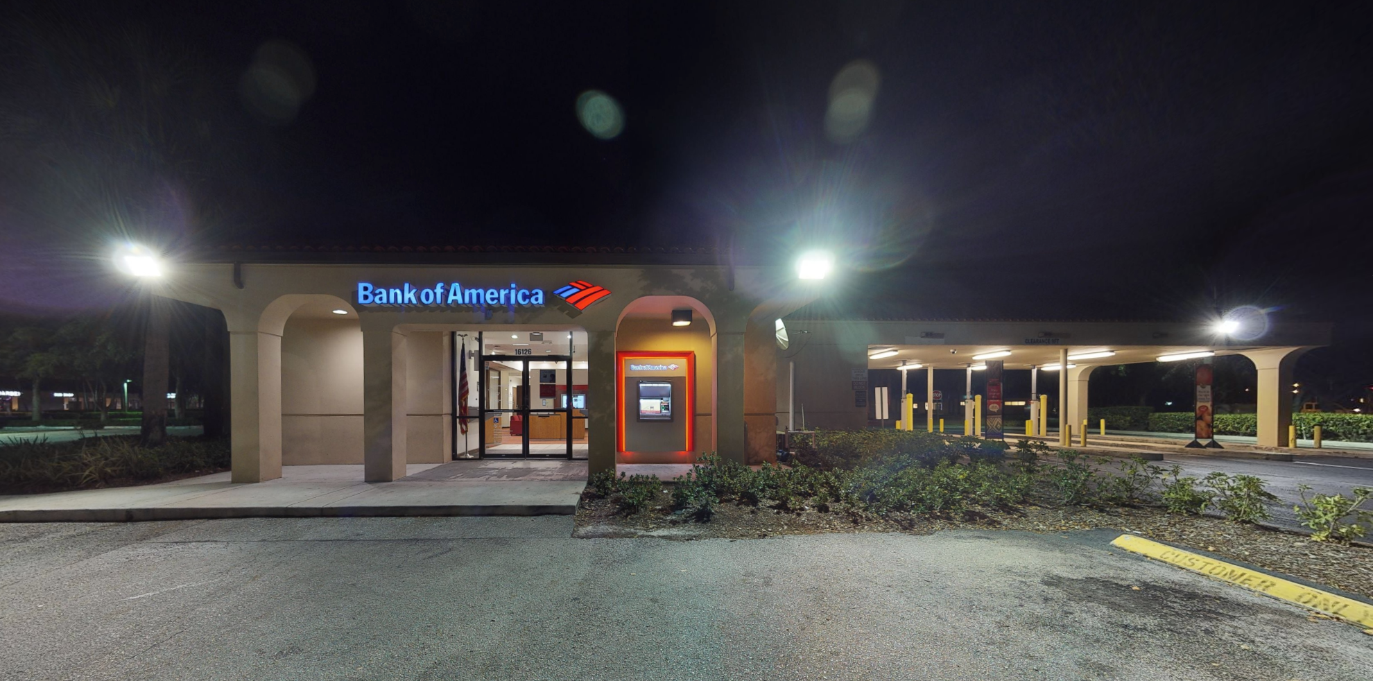 Bank of America financial center with walk-up ATM   16126 S Military Trl, Delray Beach, FL 33484