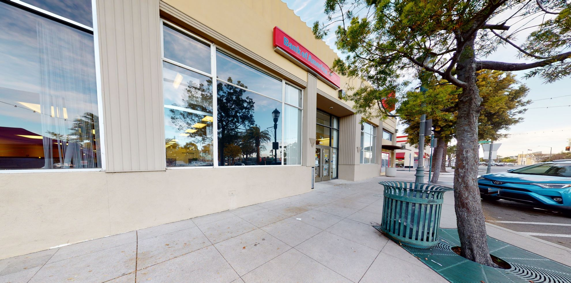 Bank of America financial center with walk-up ATM   1255 Sartori Ave, Torrance, CA 90501