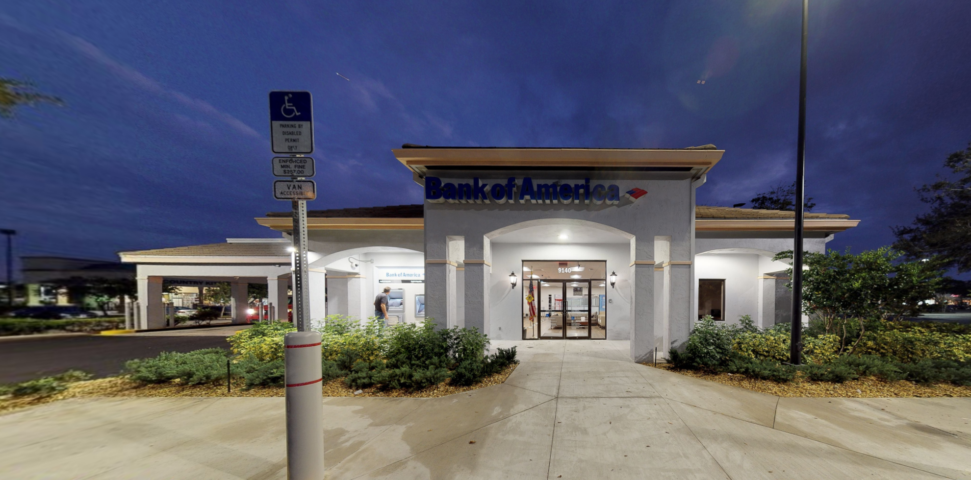 Bank of America financial center with drive-thru ATM | 9140 Wiles Rd, Coral Springs, FL 33067