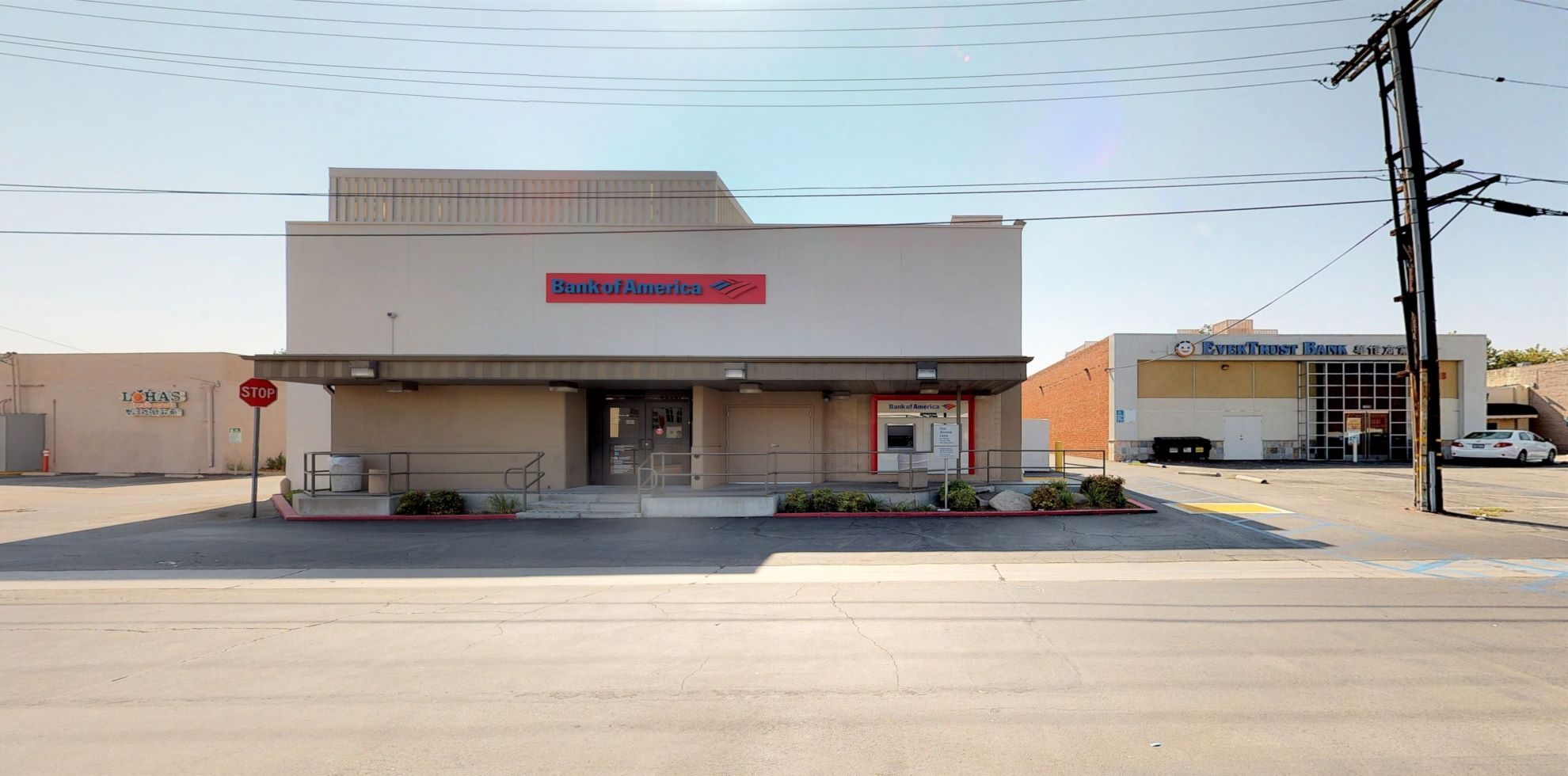 Bank of America financial center with walk-up ATM | 1234 S Baldwin Ave, Arcadia, CA 91007