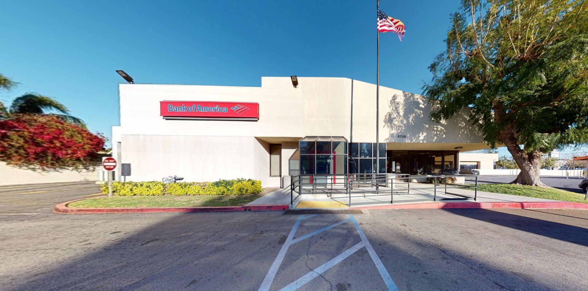 Bank of America financial center with drive-thru ATM   8720 Balboa Blvd, Northridge, CA 91325