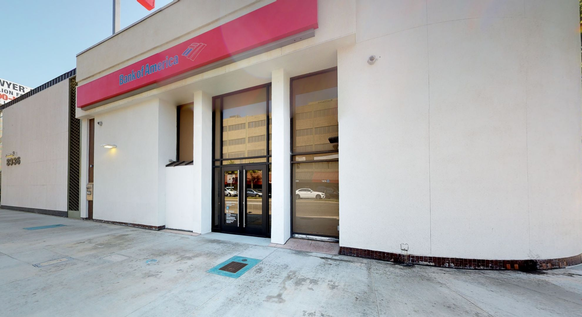 Bank of America financial center with walk-up ATM | 8946 S Sepulveda Blvd, Los Angeles, CA 90045