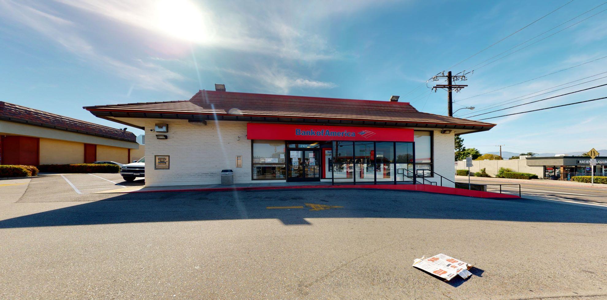 Bank of America financial center with drive-thru ATM   2101 S Hacienda Blvd, Hacienda Heights, CA 91745