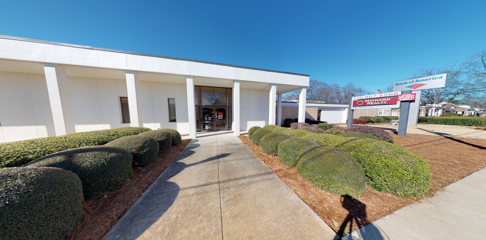 Bank of America financial center with drive-thru ATM | 102 N Broad St, Winder, GA 30680