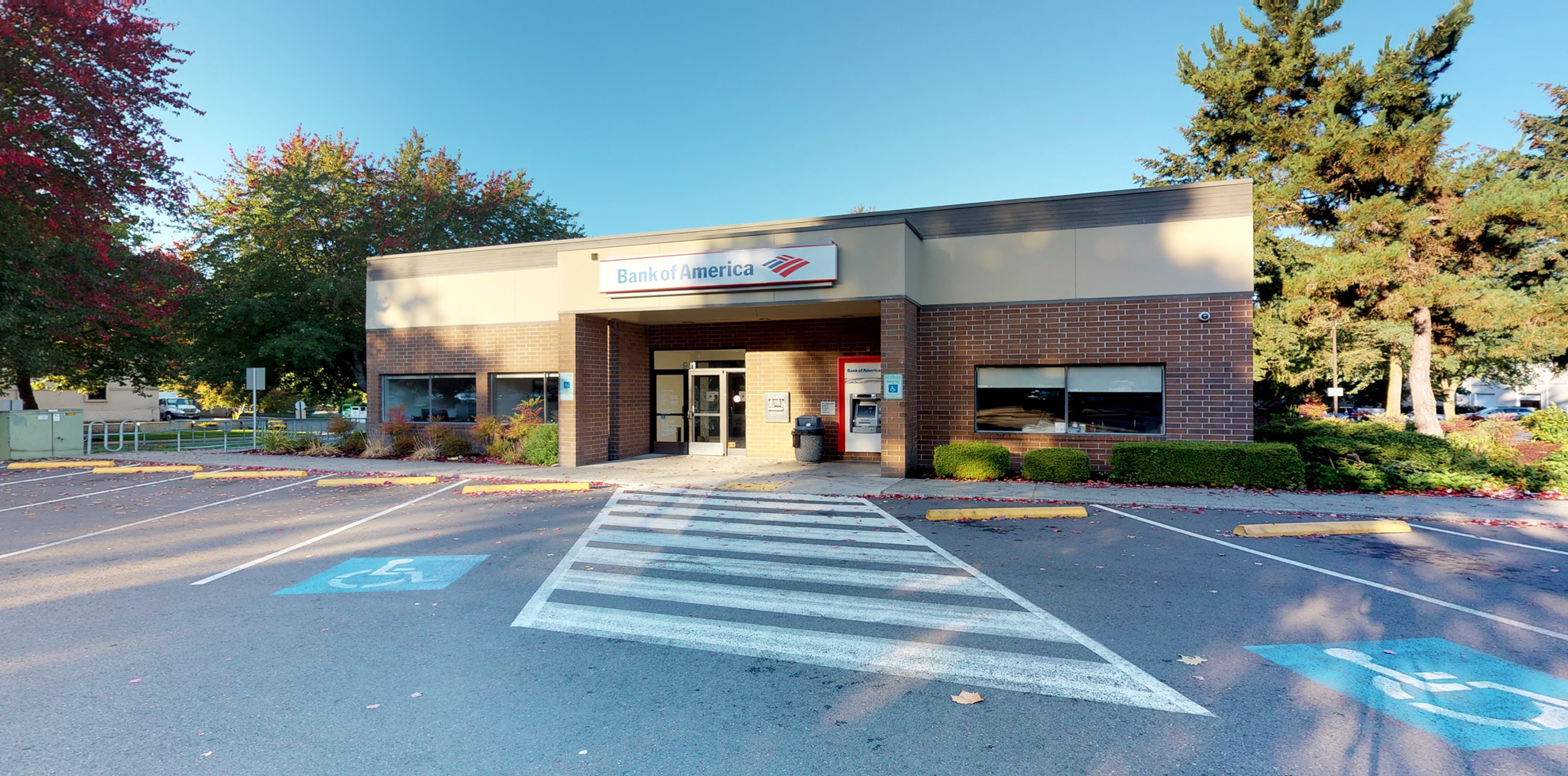 Bank of America financial center with drive-thru ATM   911 161st St SE, Mill Creek, WA 98012